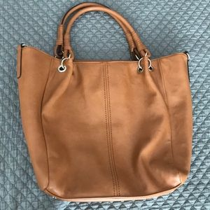 Sole society vegan leather large tote